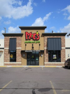 Moes Southwest Grill, Sioux Falls, SD