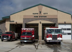 Rapid City Fire Station, Rapid City, SD